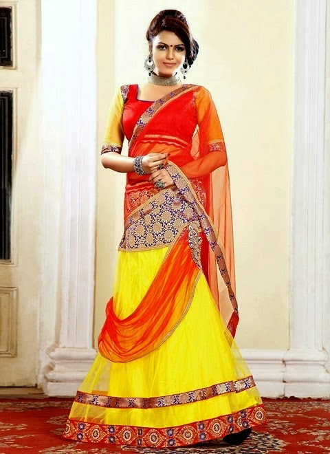 Colorful Formal Lehenga and Choli