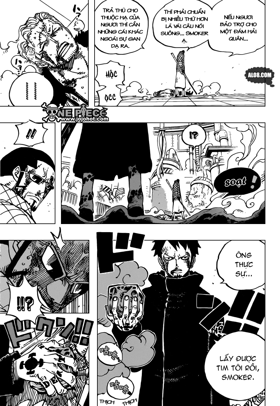 One Piece Chapter 690: SAD 011