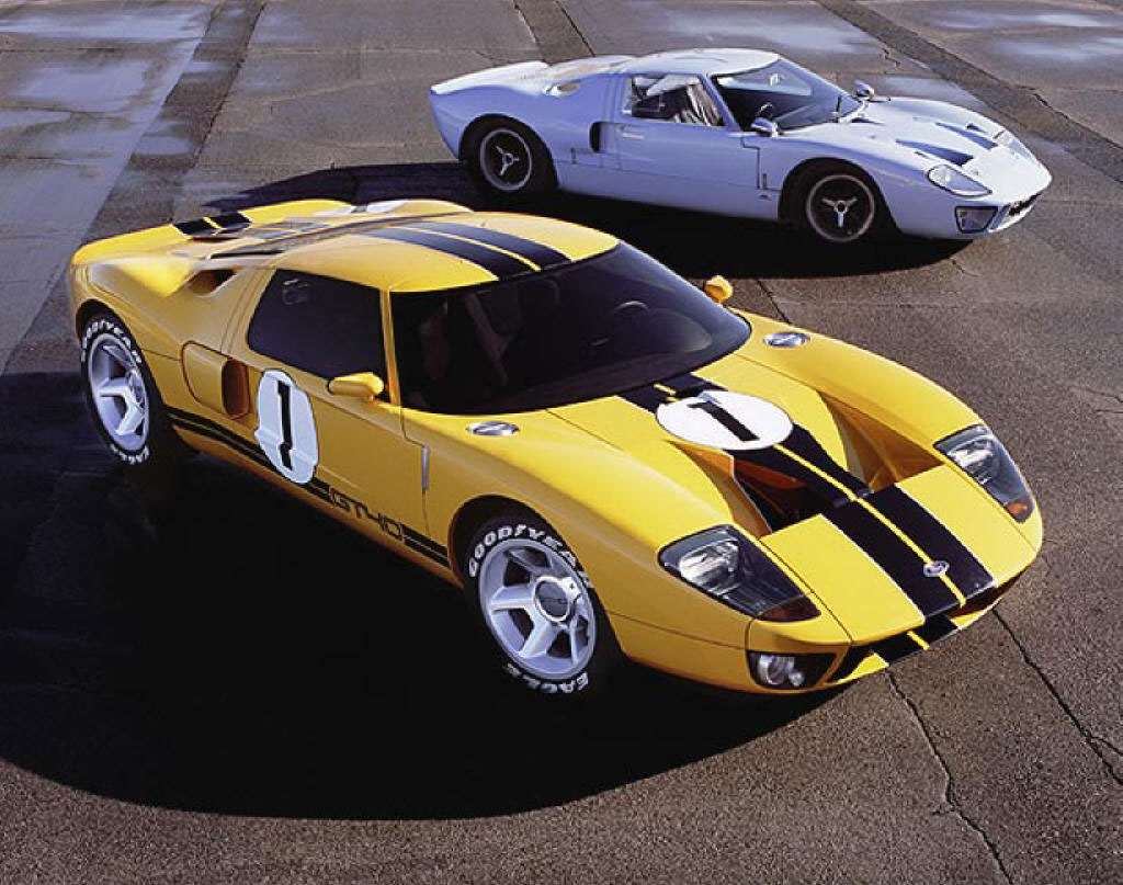 Ford Gt Sports Cars Wallpaper 2012