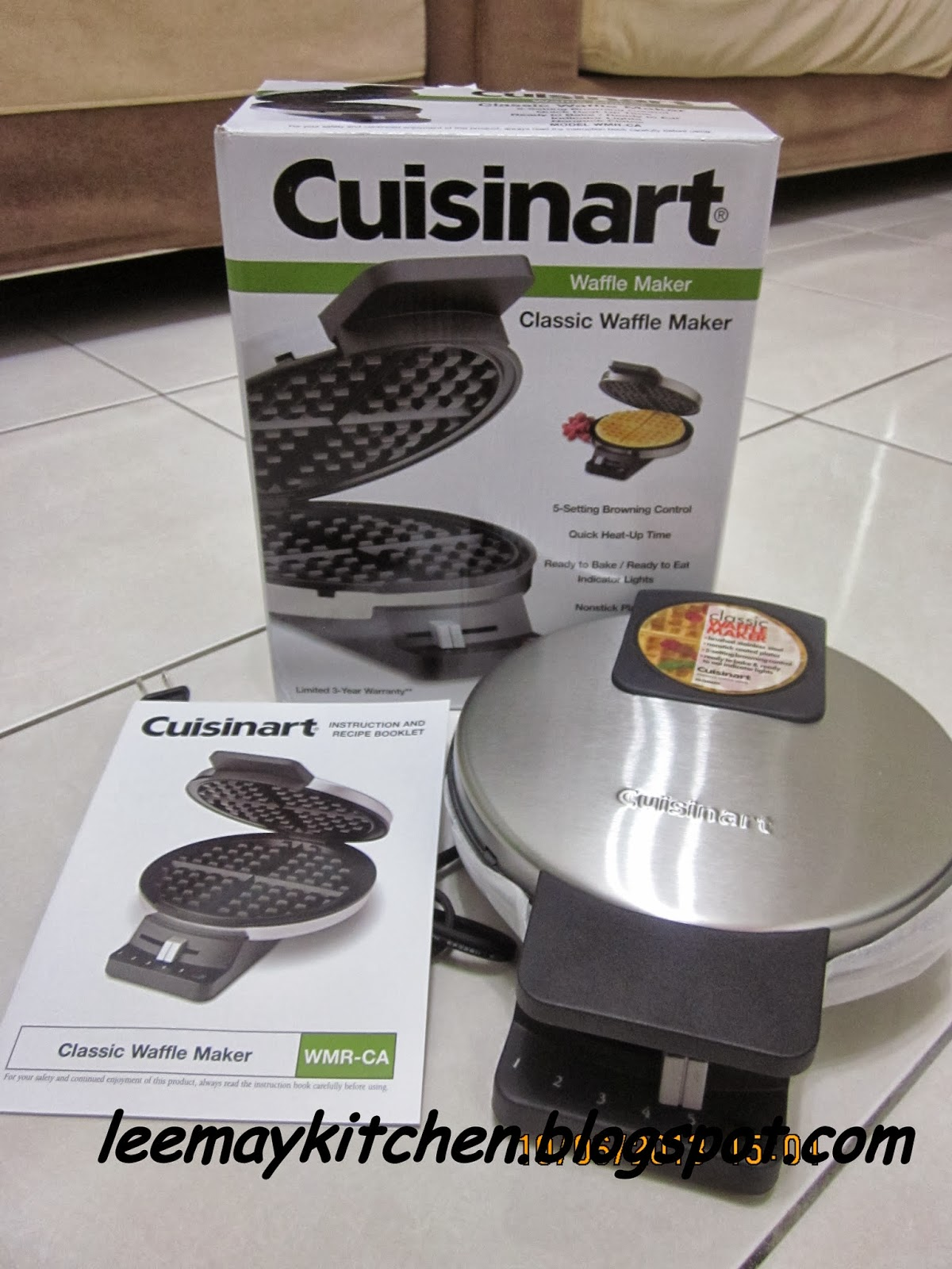 how to clean waffle maker cuisinart