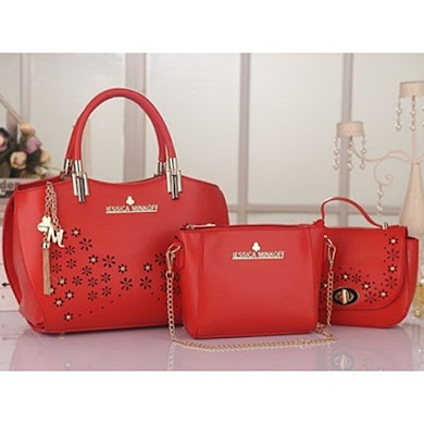 JESSICA MINKOFF (3 IN 1 SET) - RED