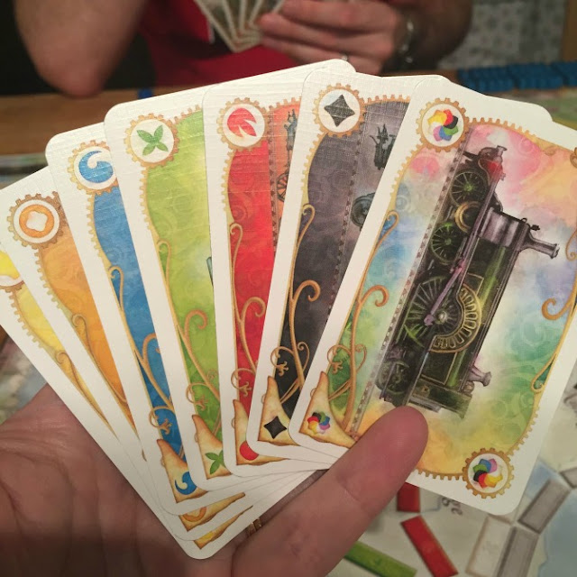 Ticket to Ride UK cards