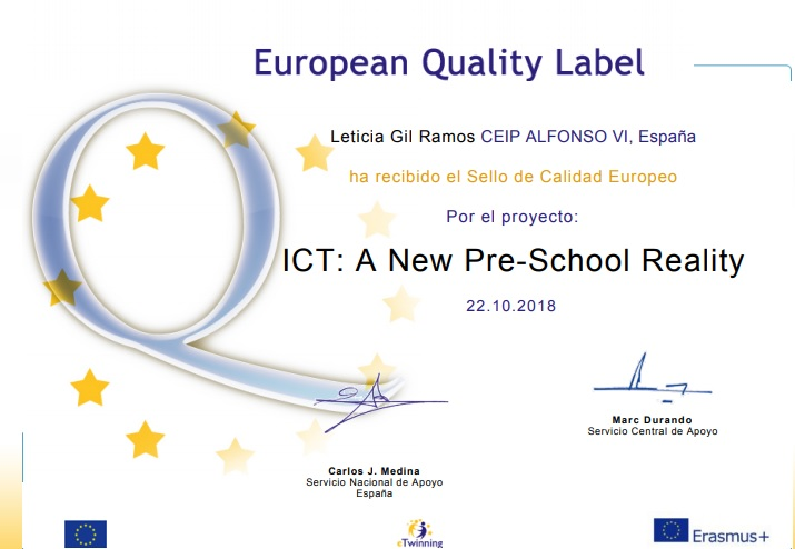 Sello calidad Europeo
