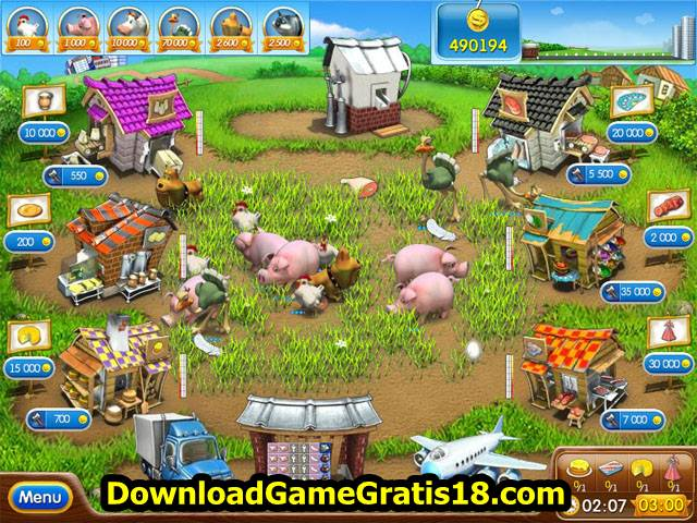 Farm Frenzy 2 - Netbook dan Laptop Spesifikasi Ringan