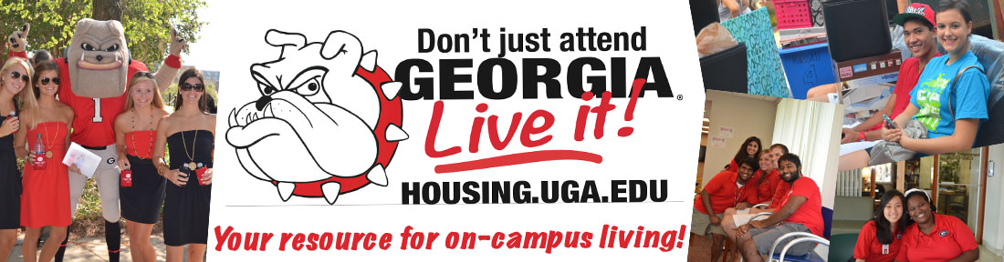Live it! UGA Housing