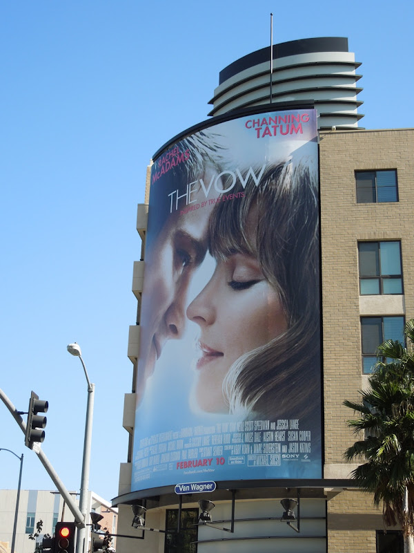 The Vow giant billboard