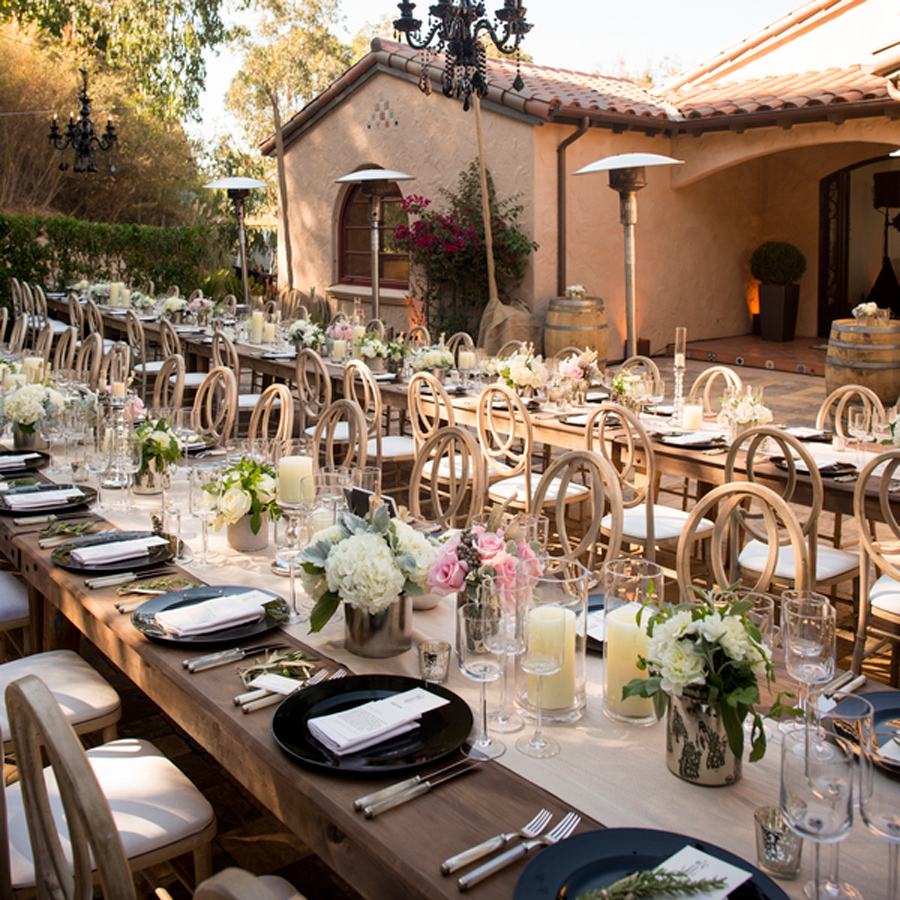 elegant backyard wedding ideas, elegant backyard wedding reception