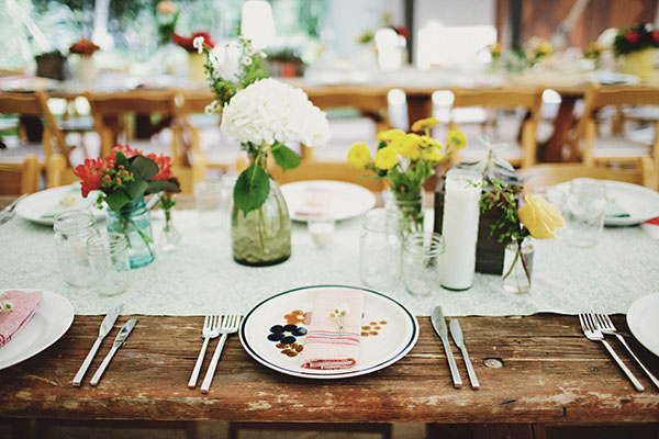 The location will always be the focal point for a rustic or country wedding