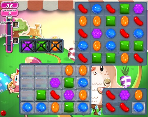 Nivel 71 Candy Crush Saga
