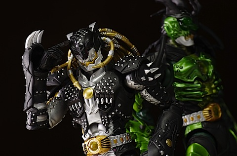 S.H.Figuarts Greed Kazari review