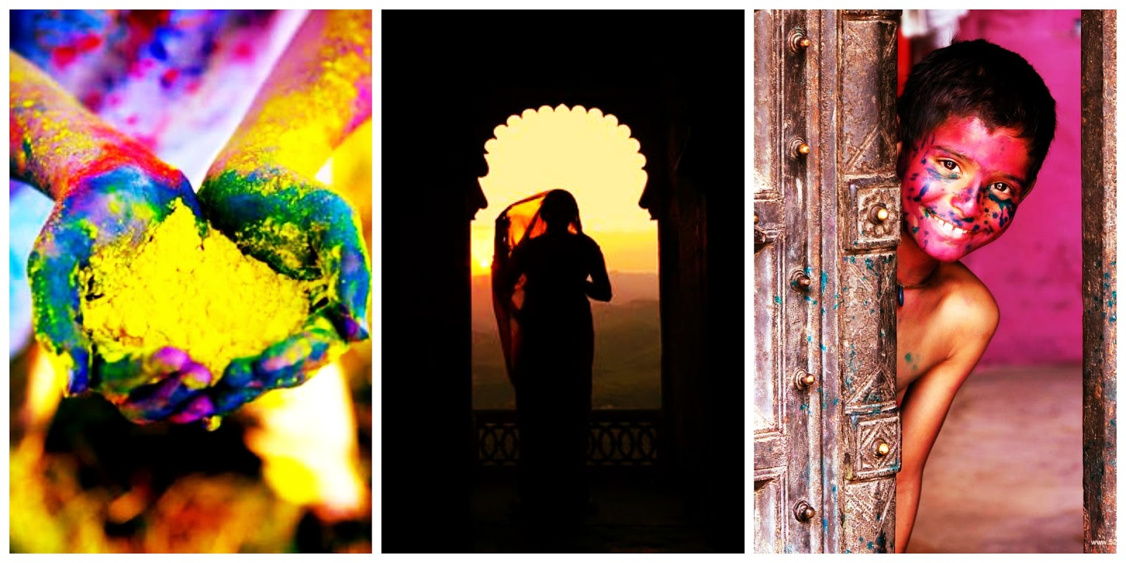 rainbow the colours of india