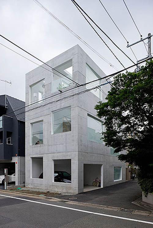 House H exterior