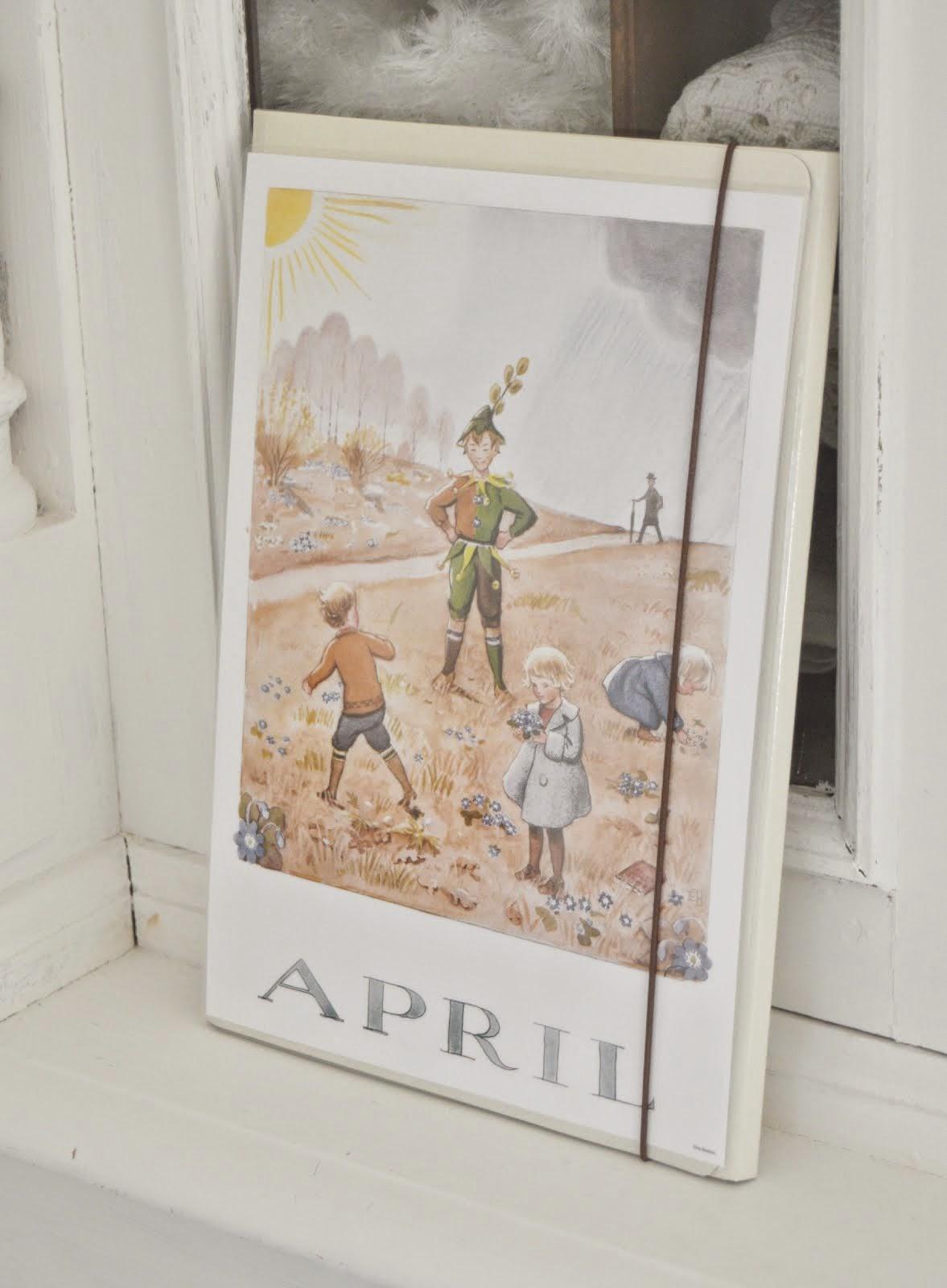 APRIL månad