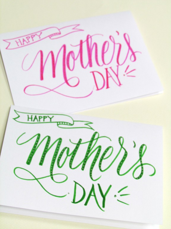 Lettering Lately > Happy Mother's Day