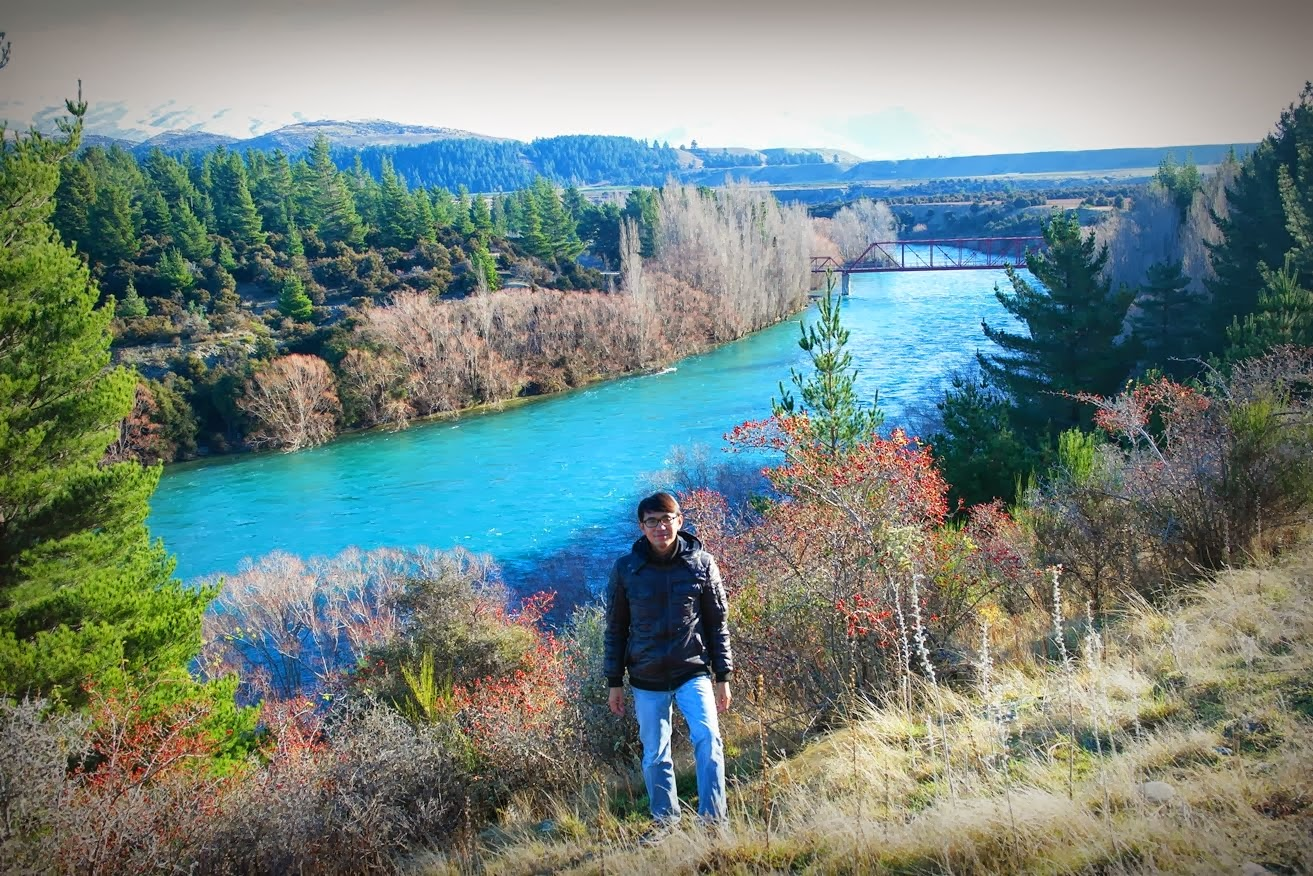 Clutha River, Wanaka, NZ
