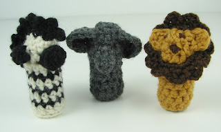 crochet safari animals zebra elephant lion