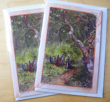 &#39;Nadelik&#39; greetings cards