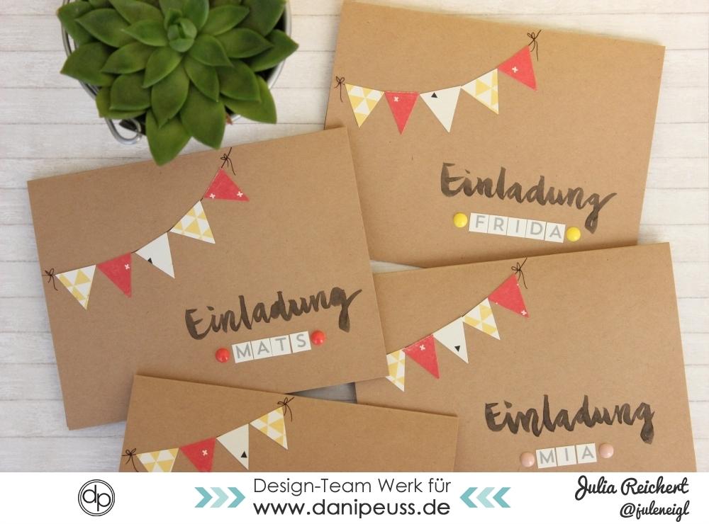 :: Danipeuss.de :: BLOG: DIY Einladungen Zum Kindergeburtstag