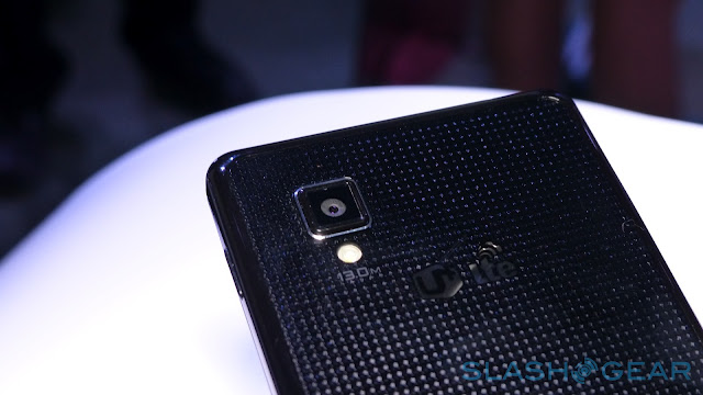 LG Optimus G rear camera