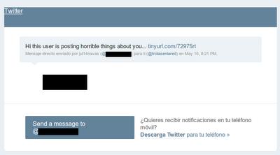 Twitter correo