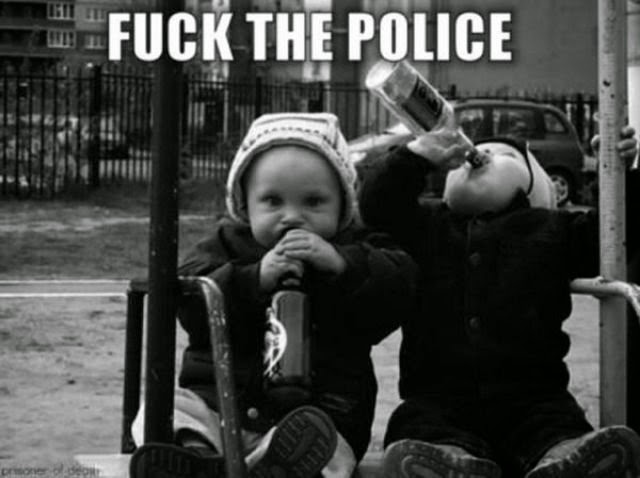 suck the police funny kids