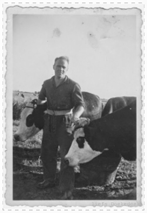 afbeelding van mijn opa als jonge man, door Doekedoek, www.doekedoek.nl