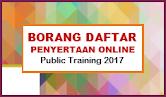 Daftar Penyertaan Online - Public Training 2017