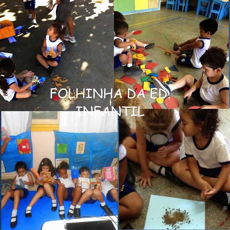 FOLHINHA DA EDUCAÇÃO INFANTIL DO ISERJ