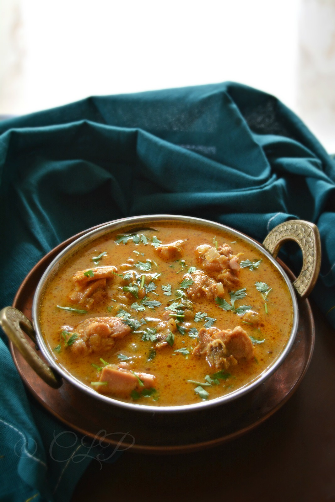 South Indian Chicken Kurma