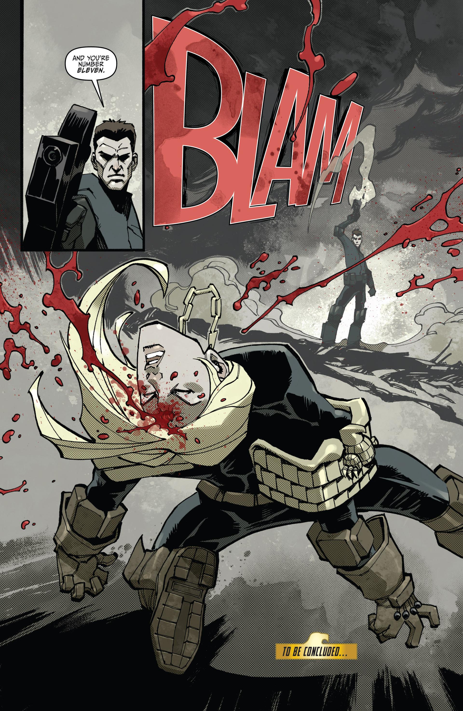 Read online Judge Dredd (2012) comic -  Issue #15 - 15