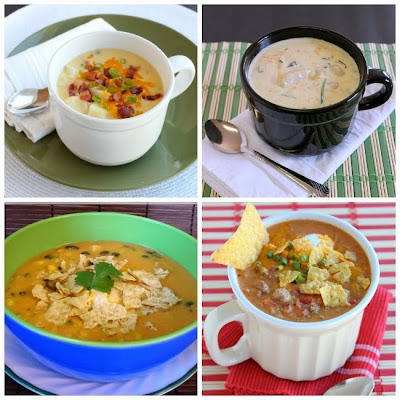 Soup recipes from Dessert Now, Dinner Later!