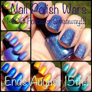 Nail Polish Wars 1400 Follower Giveaway!