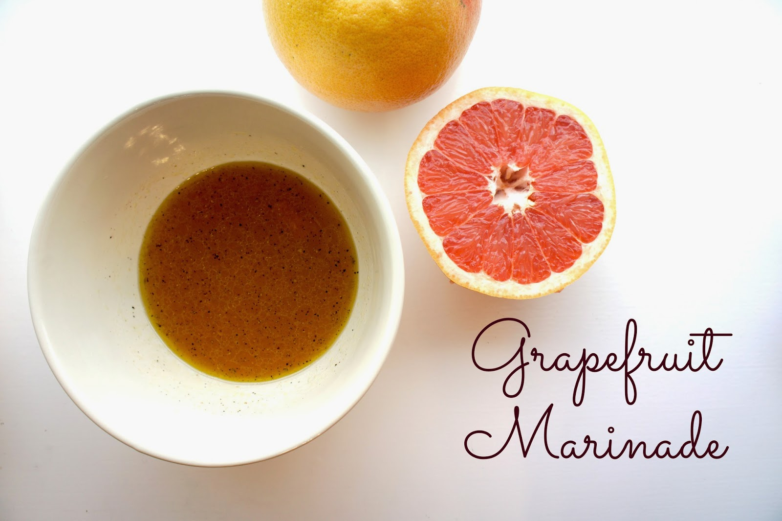 Grapefruit Marinade