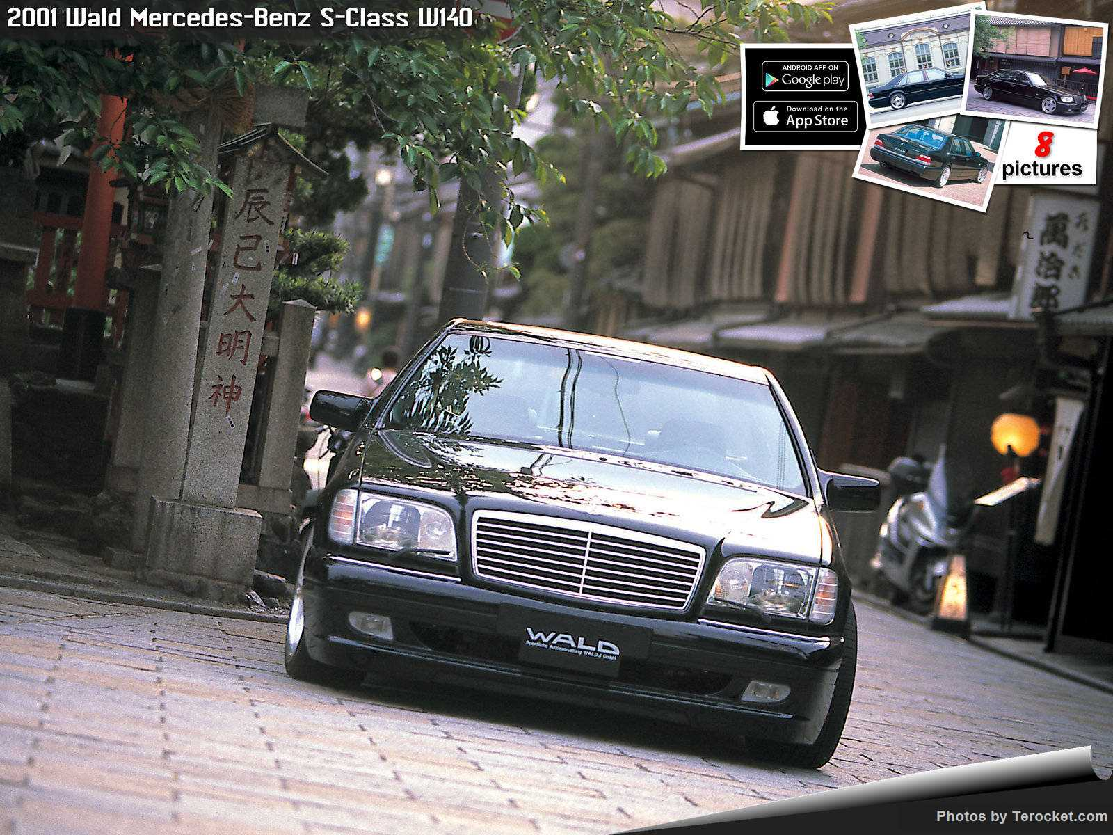 Hình ảnh xe độ Wald Mercedes-Benz S-Class W140 2001 & nội ngoại thất