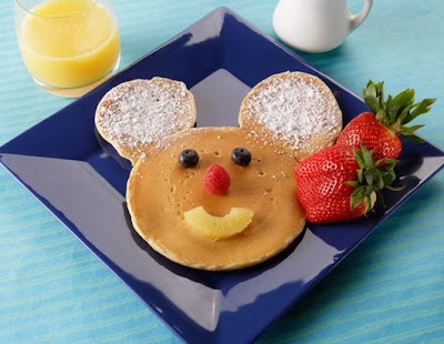 Mickey Mouse Hot Cakes.