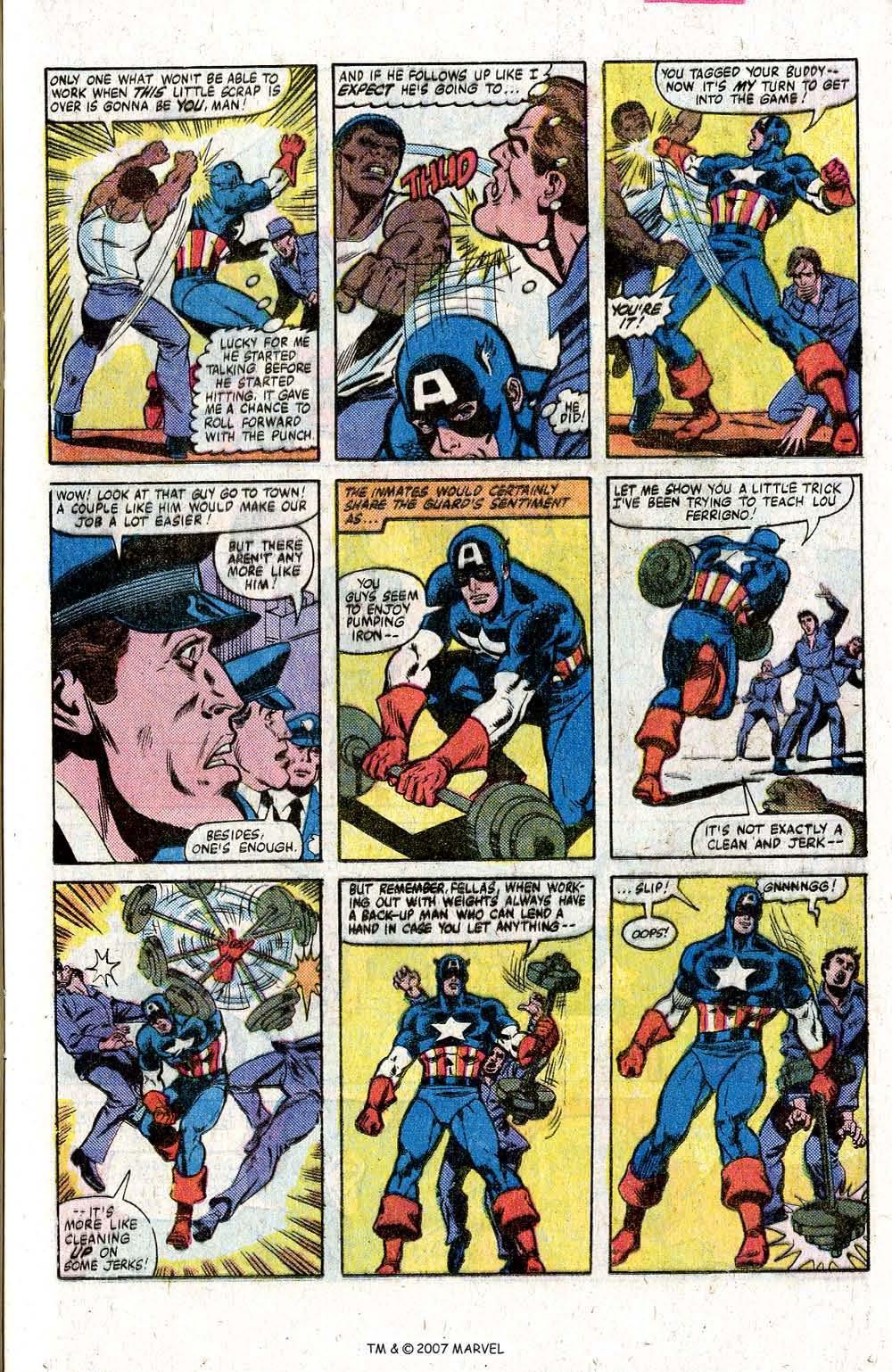 Captain America (1968) Issue #260 #175 - English 13