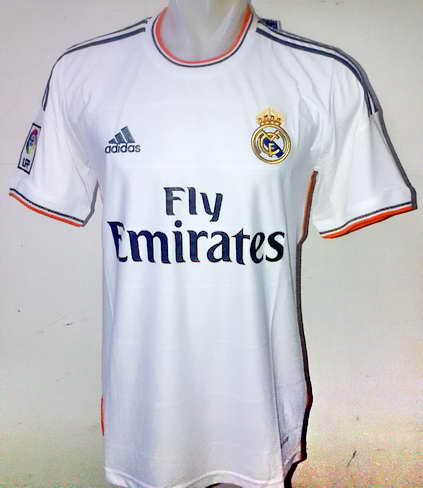 Real Madrid Jersey Home