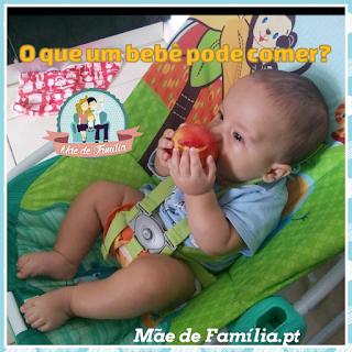 alimentação dos bebês