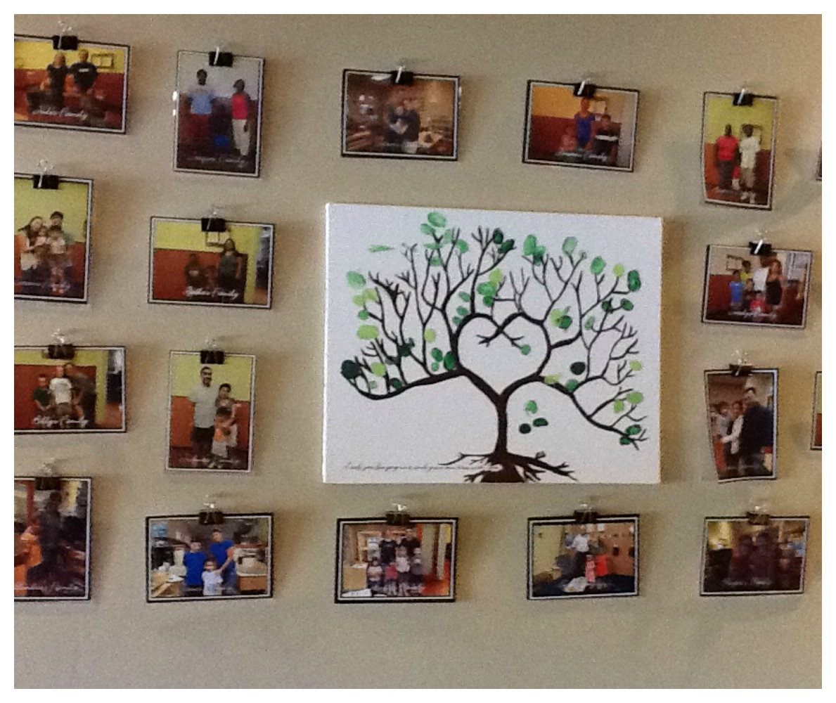 Let the children play be reggio inspired documentation for Family display board ideas
