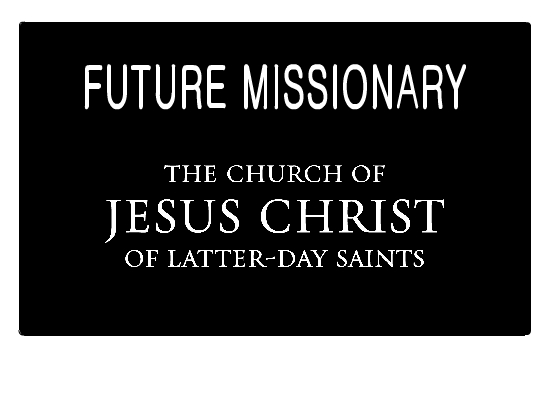 Impeccable image in future missionary tag printable