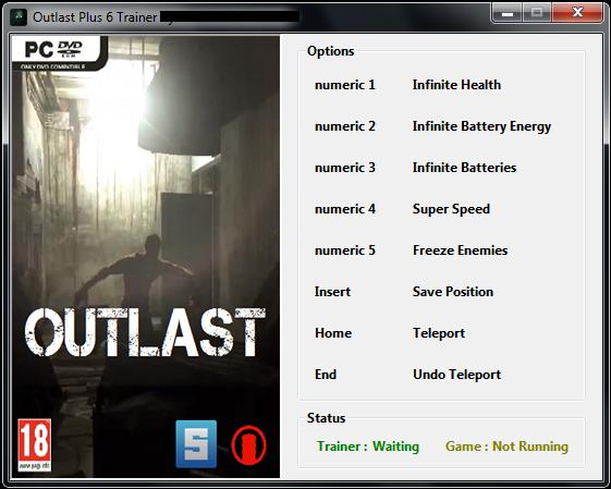 скачать трейнер для Outlast - фото 10