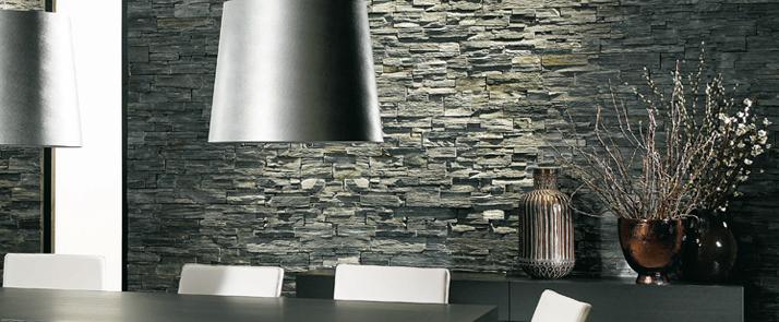 Conseils d co et relooking la pierre naturelle est devenu for Pierre de decoration interieur