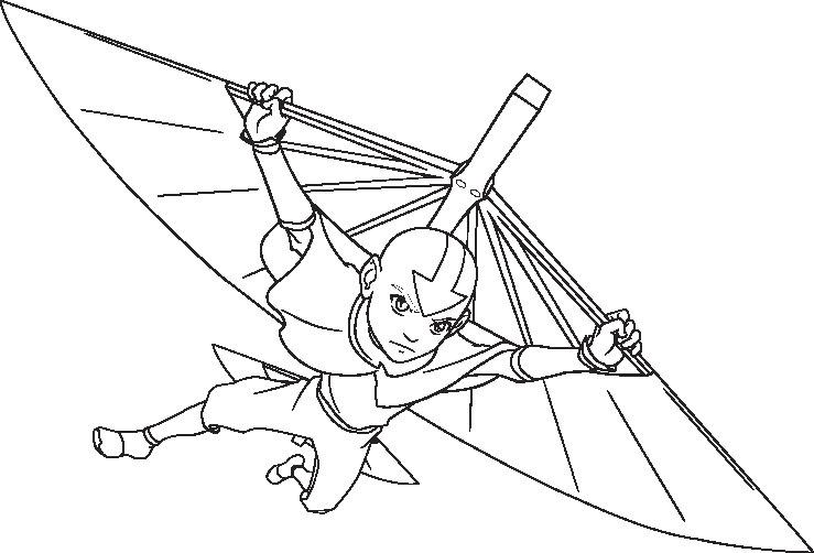 Fantástico Avatar El último Maestro Del Aire Para Colorear Momo ...