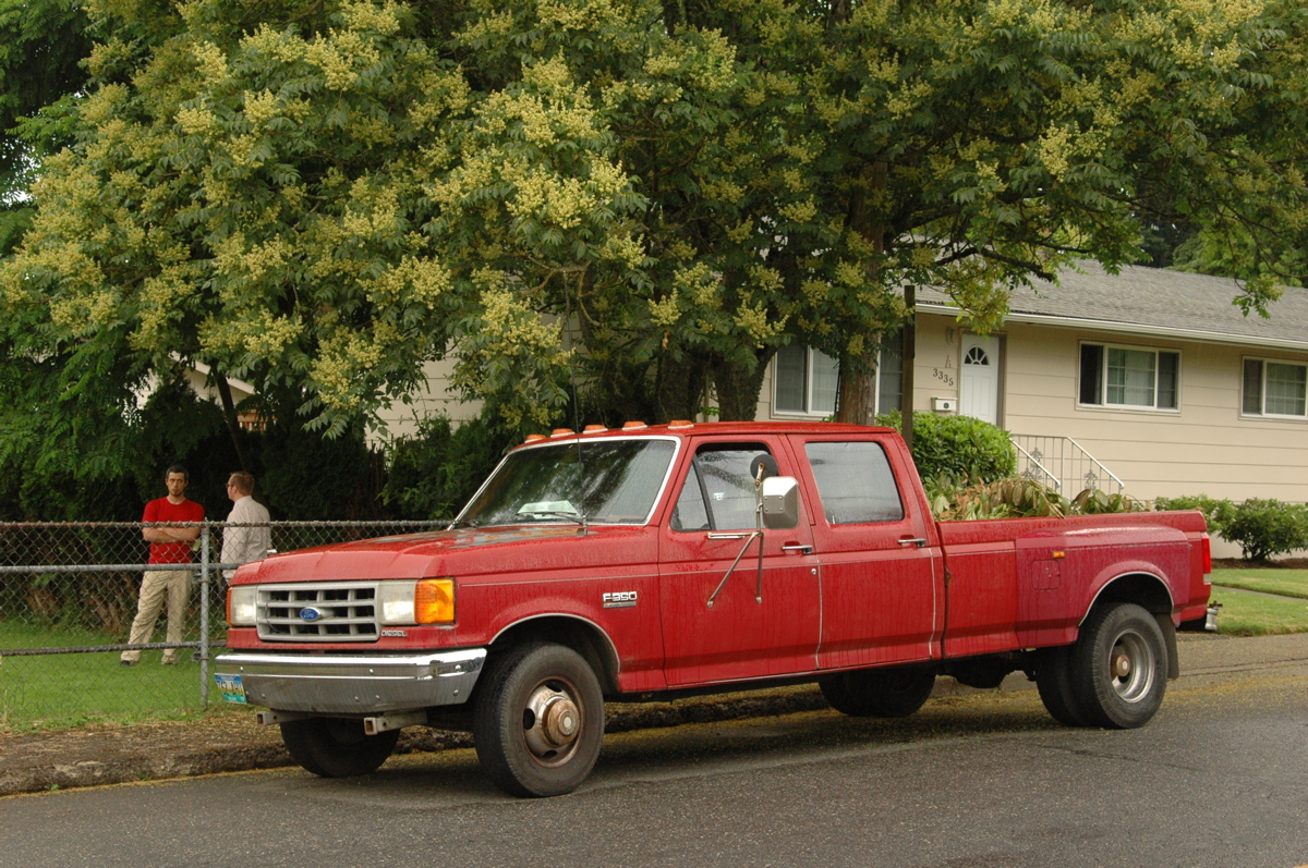 1990 Ford F-350 Dually Crew Cab