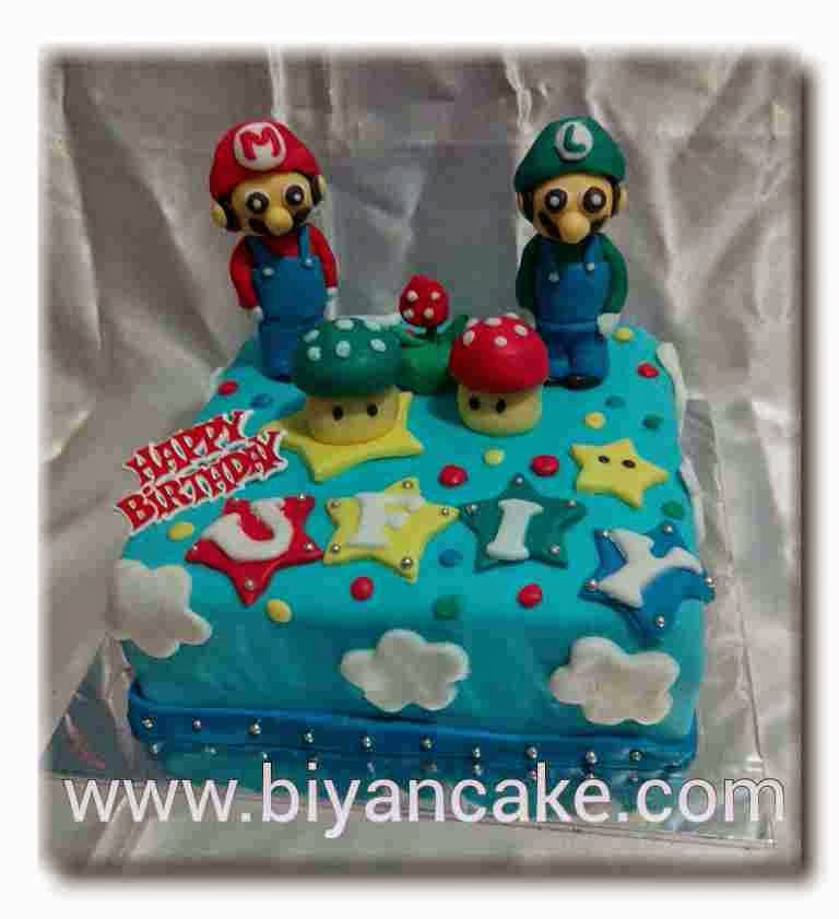 Cake Mario Bross ~ Ozha