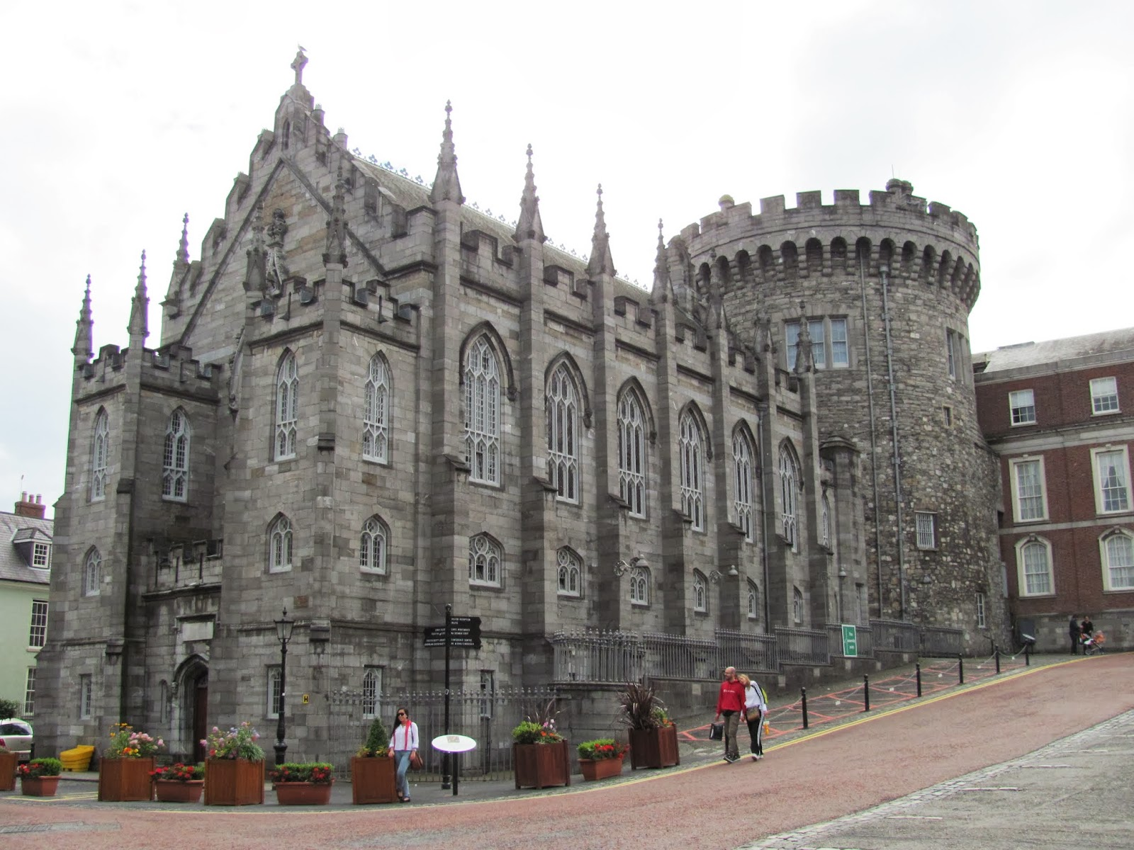 Part of Dublin Castle Dublin Ireland