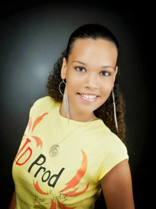 Miss Monde Guadeloupe 2014 winner Anne-Sophie Desiree