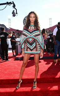 Joan Smalls en los premios MTV Awards 2014.