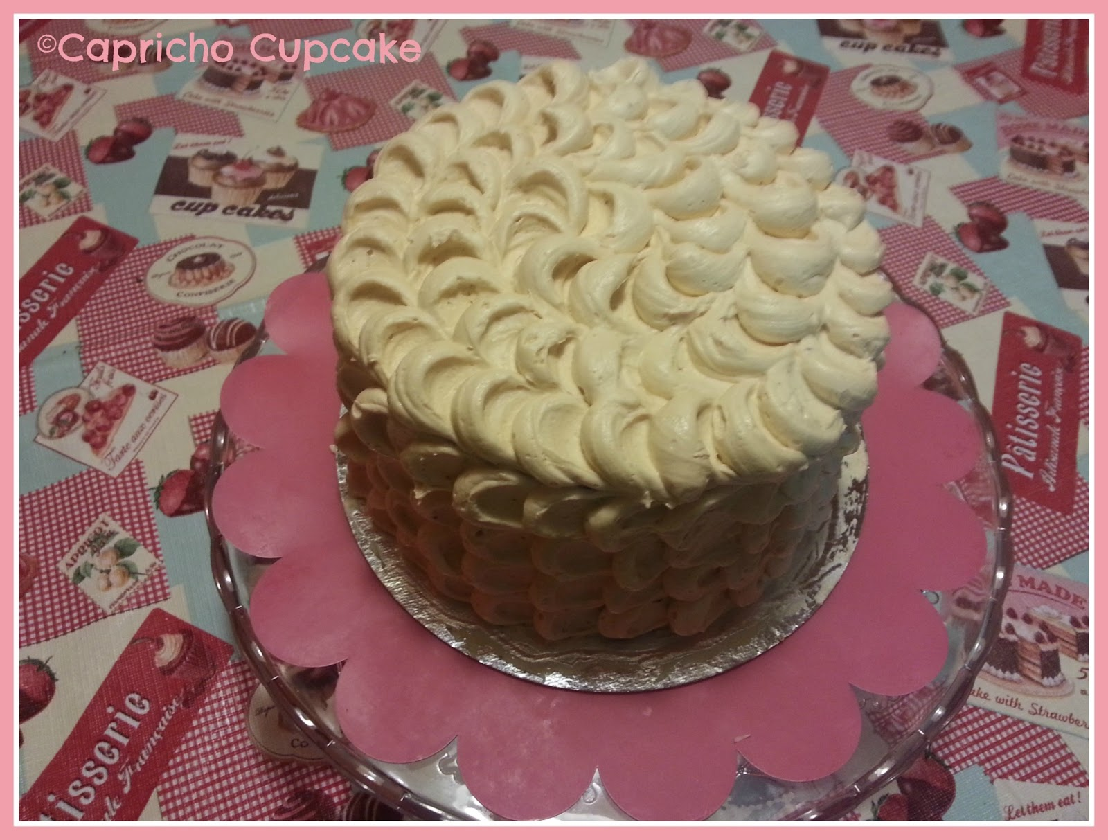 capricho cupcake tarta layer cake chocolate y avellana