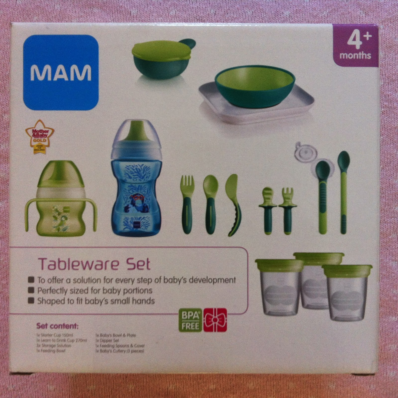 The MAM Complete Tableware Set ( £19.99 at BabiesRUs) offers a superb set of items for every step of your babyu0027s development. & My Little L: MAM tableware set review